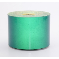 Engineering Grade Retro Reflective Adhesive Tape, 50 yds Length x 4' Width, Green