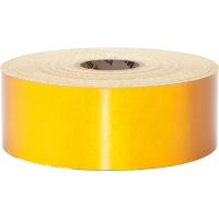 Engineering Grade Retro Reflective Adhesive Tape, 50 yds Length x 2' Width, Yellow