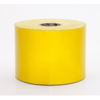 Engineering Grade Retro Reflective Adhesive Tape, 50 yds Length x 4' Width, Yellow