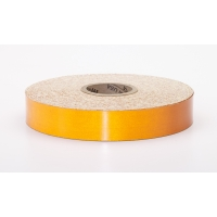 Engineering Grade Retro Reflective Adhesive Tape, 50 yds Length x 1' Width, Orange