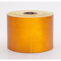Engineering Grade Retro Reflective Adhesive Tape, 10 yds Length x 4' Width, Orange