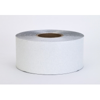 Construction Grade Foil Backed Pavement Marking Adhesive Tape, 100 yds Length x 4' Width, White