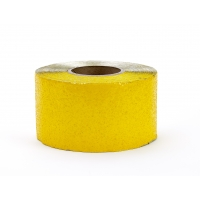 Engineering Grade Foil Backed Pavement Marking Adhesive Tape, 50 yds Length x 4' Width, Yellow
