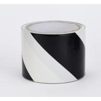 17799-01091-2036, Polypropylene Laminated Super Tuff Hazard Stripe Tape, 2 x 36 yd., Black/White Stripe (Pack of 4), Mega Safety Mart