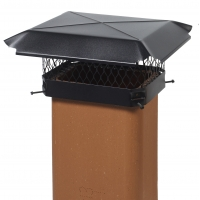 Mutual Industries 1818-91-0 CBO-1818 Galvanized Painted Chimney Cap