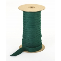 Acrylic awning braid, 3/4', 50 yds, Forest Green