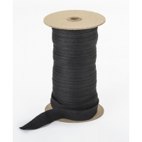 Acrylic awning braid, 3/4', 50 yds, Black