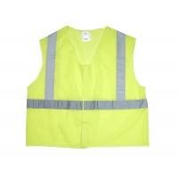 20025-0-102, ANSI Class 2 Non Durable Flame Retardant Vest, Mesh, Lime -Medium, Mega Safety Mart