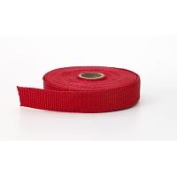 2020-212-150-10, Polypropylene webbing, 1.5 Wide, 10 yds, Red, Mega Safety Mart