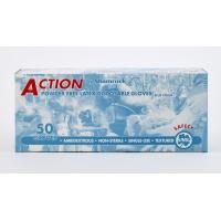 29000-2, High-Risk Latex Gloves, 14 mil, Medium, Blue (Pack of 500), Mega Safety Mart
