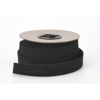 Braided elastic, .75' Wide, 10 yds, Black