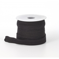 Foldover elastic, .625' Wide, 25yds, Black