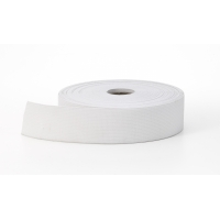Knit elastic, White 2' - 10 yards