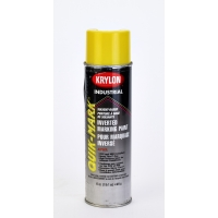 Krylon Inverted Marking Paint, 20 oz, 12 PK, S03821V-Apwa Hi Visibility Yellow