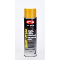 Krylon Inverted Marking Paint, 20 oz, 12 PK, S03823V-Apwa Saf Yellow