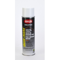 Krylon Inverted Marking Paint, 20 oz, 12 PK, S03900V-Util White