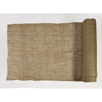 44004-100-48, Burlap Fabric, 100 yds Length x 48 Width, Natural, Mega Safety Mart