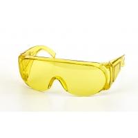 50027, Wrap-Around Glasses, Amber (Pack of 12), Mega Safety Mart