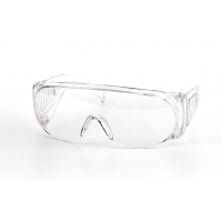 Wrap-Around Glasses, Clear (Pack of 12)