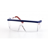 Marlin Glasses, Red/White/Blue USA Frame, Clear Lens (Pack of 12)