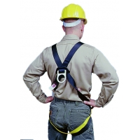 50076, Full Body D-Ring Safety Harness, 6000 lbs Minimum Tensile Strength, Mega Safety Mart