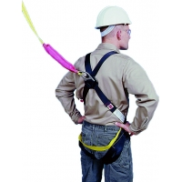 D-Ring Safety Harness and Lanyard Combo