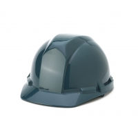 Polyethylene 4-Point Pin Lock Suspension Hard Hat, Green