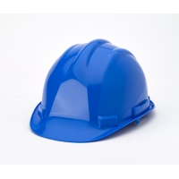 Hard Hat, 6-Point Ratchet Suspension, Blue