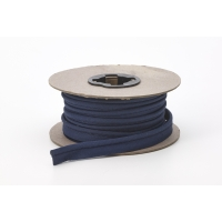 62-050-9021-15, Broadcloth cord piping, 1/2 Wide, 15 yds, Navy, Mega Safety Mart
