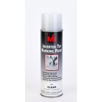 Inverted Tip Spray Paint, #631 Clear, 20 Oz.12/cs