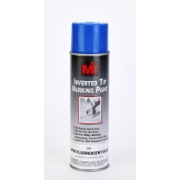 Inverted Tip Spray Paint, #669 APWA Flourescent Blue, 20 Oz.12/cs