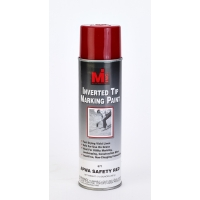 Inverted Tip Spray Paint, #671 APWA Safety Red, 20 Oz.12/cs