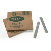 Mutual Industries 7110-0-0 Wall Ties, 28 Gauge 7/8' x 6 3/8'
