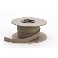 Broadcloth doublefold bias, 1/2' Wide, 25 yds, Khaki