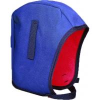 72700-100, #44 Tundra Twill Cap Hard Hat Winter Liner, Fleece Lining, Postman Blue, Mega Safety Mart