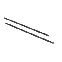 Mutual Industries 7500-0-24 Nail Stake with Holes, 24' x 3/4'
