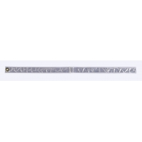 Reflective Streamer, 30' Length x 1-1/2' Width, White