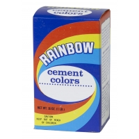Mutual Industries 9009-0-1 Rainbow Cement Color,  1 lb., Terra Cotta