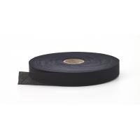 91-100-9999-175-25, Broadcloth flat bias binding, 1.75 Wide, 25 yds, Black, Mega Safety Mart