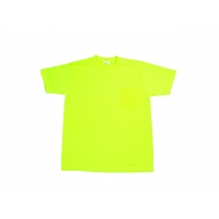 Durable Flame Retardant T-Shirt, Lime, Large