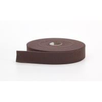 9810-465-25, Quilt binding, brushed, 2 fold in half, finish 1, 25 yds, Chocolate, Mega Safety Mart