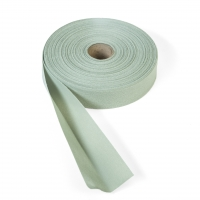 Quilt binding, brushed, 2' fold in half, finish 1', 25 yds, Sage