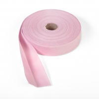 Quilt binding, brushed, 2' fold in half, finish 1', 25 yds, Pink