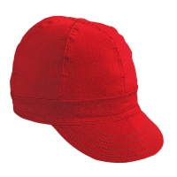 M00052-00000-7375, Kromer Red Twill Style Welder Cap 7 3/ 8, Cotton, Length 5, Width 6, Mega Safety Mart