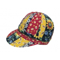 M00352-00000-6625, Kromer Daisy Chain Style Welder Cap 6 5/ 8, Cotton, Length 5, Width 6, Mega Safety Mart