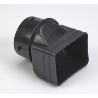 M0465-0-0, 3 in X 4 in X 4 in Downspout Adapter, Mutual Industries