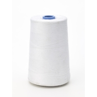 Matching Thread, White, 6,000 yard spools