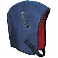 M13450, WL3-45 Kromer High Quality Hard Hat Winter Liner with Denim Regular Nape, Blue, Mega Safety Mart