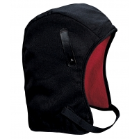 M14250, WL4-250 Kromer High Quality Hard Hat Winter Liner with Twill Long Nape, Black, Mega Safety Mart
