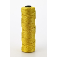 Nylon Mason Twine, 1/4 lb. Twisted, 18 x 275 ft., Glo Yellow (Pack of 6)